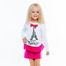 Восхитительная кофточка для девочки с принтом Эйфелевой башни